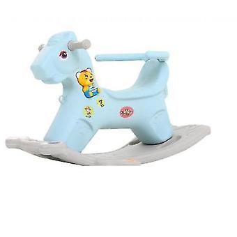 Merisaha ratsastus lelut lapsille (sininen)