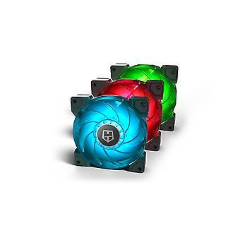Box Ventilator NOX HUMMER H-SYNC RGB LED Ø 12 cm (3 st)