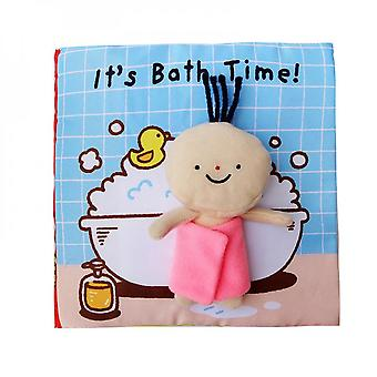 Baby Early Childhood Education Toys, Environmental Cloth Books Hard To Torn
