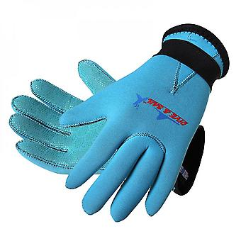 9-12 Years Old Diving Gloves Children Scratch-resistant Handguards Wear-resistant Warm Snorkeling Gloves Swimming Gloves