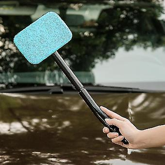 Car wash brushes detachable 13 inch window brush wiper with microfiber