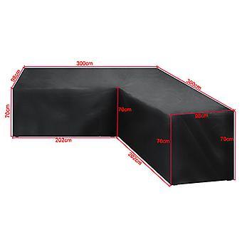 Mimigo Patio huonekalut kattaa raskaan liikenteen ulkona osa sohva kansi, vedenpitävä 100% patio osa sohva kansi, V-muotoinen nurmikko patio huonekalut Cove