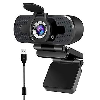 Full Hd Webcam With Microphone For Pc Desktop Laptop
