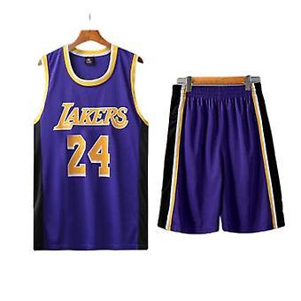 Basketbal Uniform Suit Kobe No. 24 Sports Training Jersey