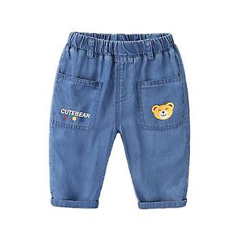 Calças de mosquito jeans bebê