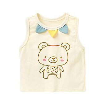 Baby Clothes Vest Camiseta sem mangas Top camisa