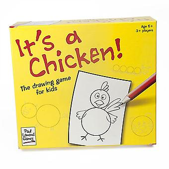 It's A Chicken Drawing Game Age 5 And Up  Easy Fun Brand New