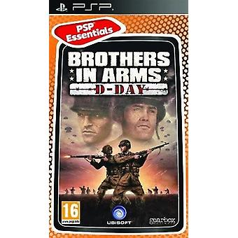 Brothers In Arms D-Day Essentials Edition Sony PSP spil