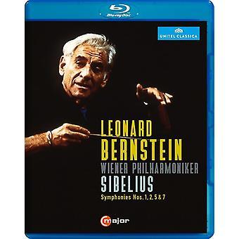 Leonard Bernstein gjennomfører Sibelius [Blu-ray] USA import