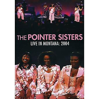 Pointer Sisters - Live in Montana 2004 [DVD] USA import