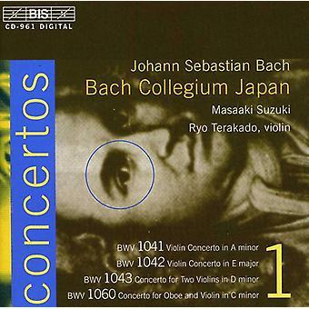 J.S. Bach - Bach: Violin Concertos, Vol. 1 [CD] USA import