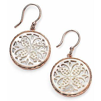 925 Silver Rose Gold Plated Mother Of Pearl Earring patterns