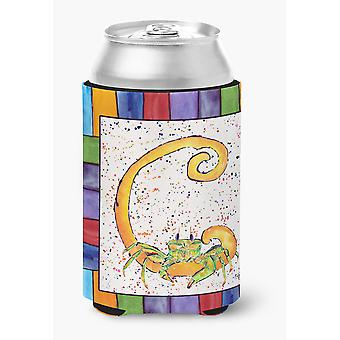 Carolines Treasures  8426-CCC Letter C with Crab Can or Bottle Beverage Insulato