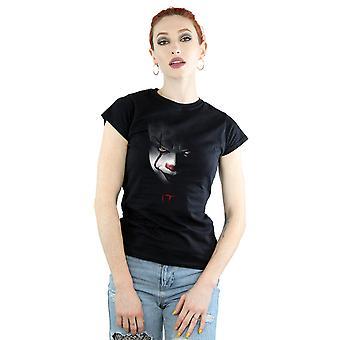 Camiseta de Pennywise de la mirada de las mujeres