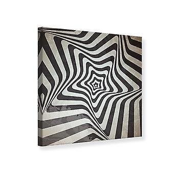 Movimientos abstractos impresión de lienzo