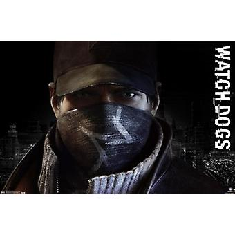 Watch Dogs - Profile Poster Print