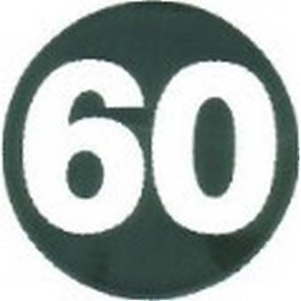 W4 60mph Sticker
