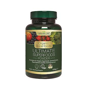 Natures Aid Ultimate Superfoods Powder (Organic) 150g