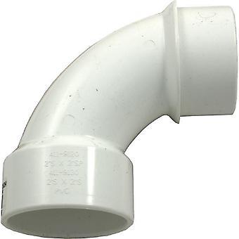 "Waterway 411-9120 PVC Pipe Fitting 90 Degree 2"" Street Sweep Elbow"