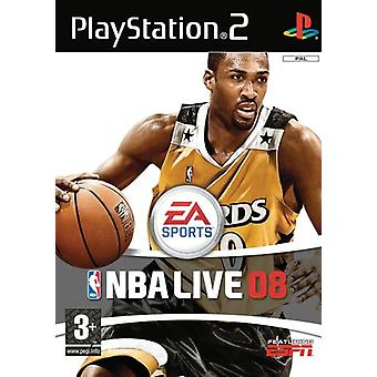 NBA Live 08 (PS2) - New Factory Sealed