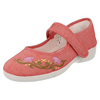 Ladies Easy B Casual Canvas Shoes Sofia