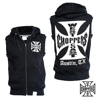West Coast choppers vest iron cross sleeveless