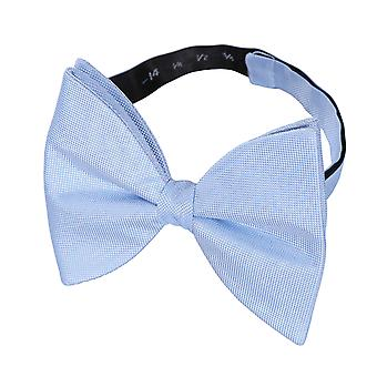 Light Blue Panama Silk Butterfly Pre-Tied Bow Tie
