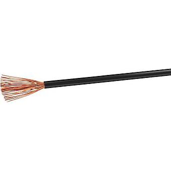 VOKA Kabelwerk H07VK4SW Flexible cable H07V-K 1 x 4 mm² Black 100 m