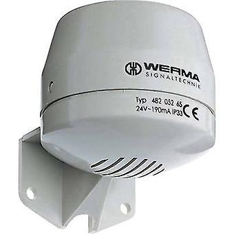 الإشارات الصوتية ورما سيجنالتيتشنيك 482.052.55 بدون توقف البوق 24 dB 92 فولت تيار مستمر