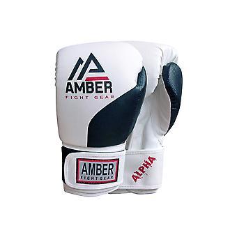 Amber Kampf Alpha-Serie Pro Style Boxen Kickboxen Muay Thai MMA Training Ausrüstungstasche Sparring Handschuhe