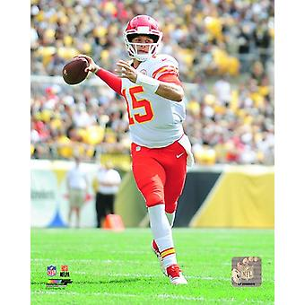 Patrick Mahomes 2018 Action Photo Print