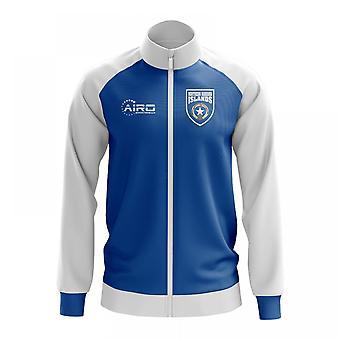 Northern Mariana käsite jalkapallo Track Jacket (sininen)