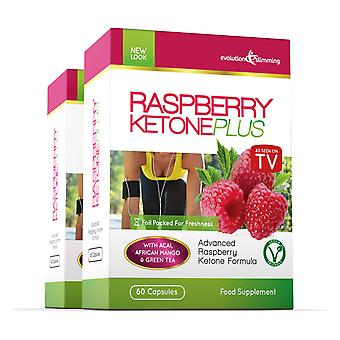 Raspberry Ketone Plus - 2 Month Supply - Fat Burner - Evolution Slimming