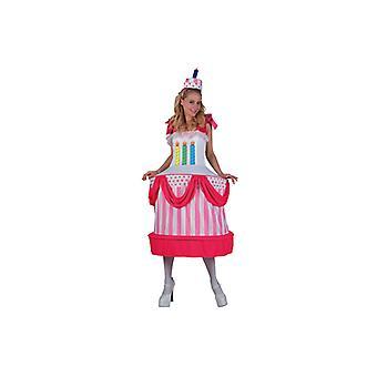 Cake costume dress cake cake cake costume ladies size M