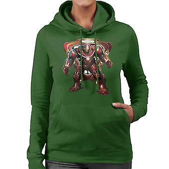 Marvel Avengers Infinity War Hulkbuster Battle Ready Women's Hooded Sweatshirt