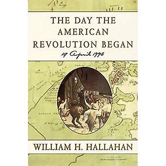 Dagen den amerikanska revolutionen började: 19 April 1775