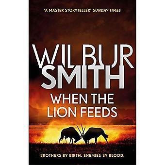 Courtney 1 quando o leão alimenta por Wilbur Smith