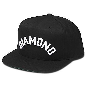 Diamond forsyning Co Arch Snapback svart