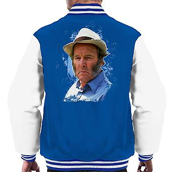 TV Times Amos Brealy Played By Ronald Magill Emmerdale Men's Varsity Jacket