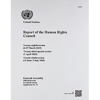 Report of the Human Rights Council - twenty-eighth session (2-27 March