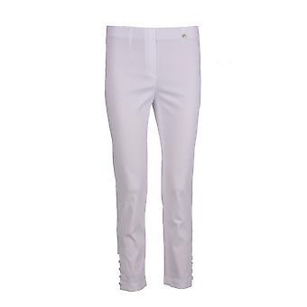 Robell Lena Trouser in White