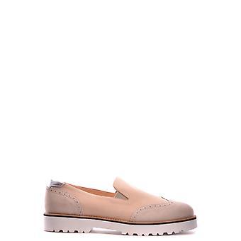 Hogan Ezbc030011 Donne's Beige Pelle Slip On Sneakers
