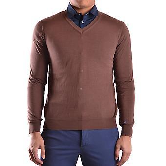 Peuterey Ezbc017019 Men's Brown Cotton Sweater