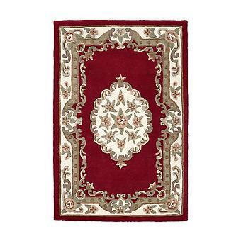 Shensi alfombras circulares tradicionales en vino