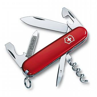 Victorinox SPORTSMAN Swiss army knife with keyring - 13 functions Genuine Swiss