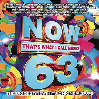 Various Artist - ahora 63: Eso es lo que llaman música [CD] USA importar
