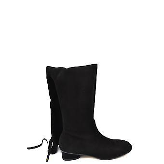 Stuart Weitzman Ezbc158008 Women's Black Suede Boots