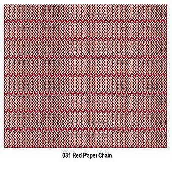 Craft Consortium Red Paper Chain Decoupage Papers