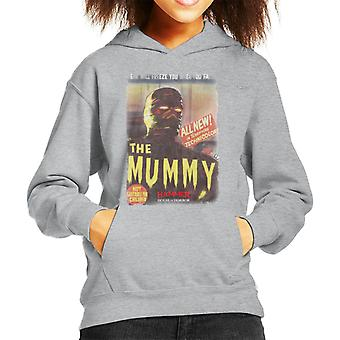 Hammer The Mummy 1959 film poster Kid's Hooded Sweatshirt