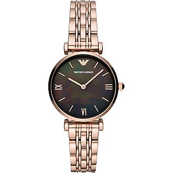 Emporio Armani Ar11145 Rose Gold-tone Stainless Steel Ladies Watch